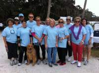 Carolyn BUtler Norton, Esq.  and her team support Alzheimer's Parkinson's 9th